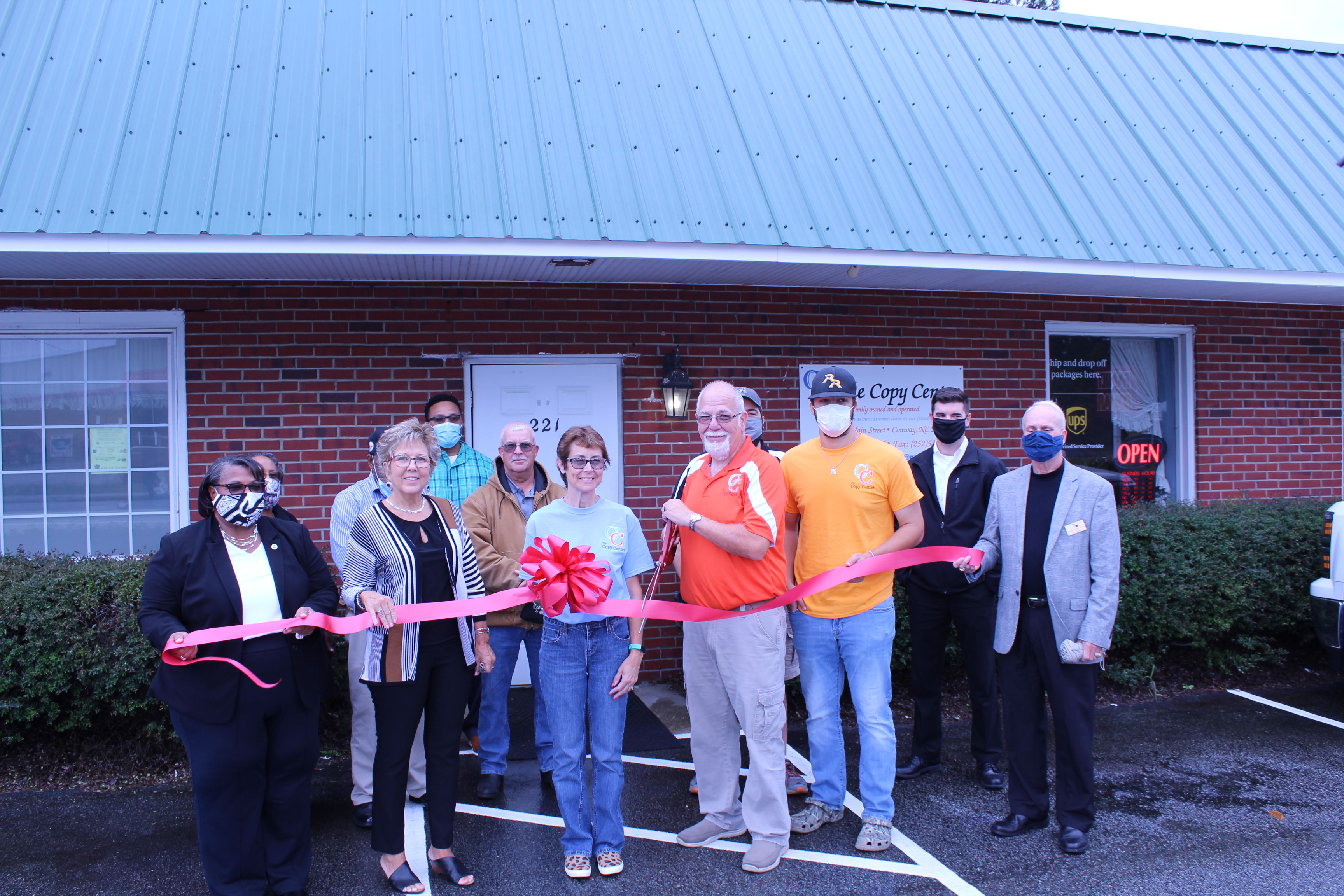 Conway Copy Center Ribbon Cutting