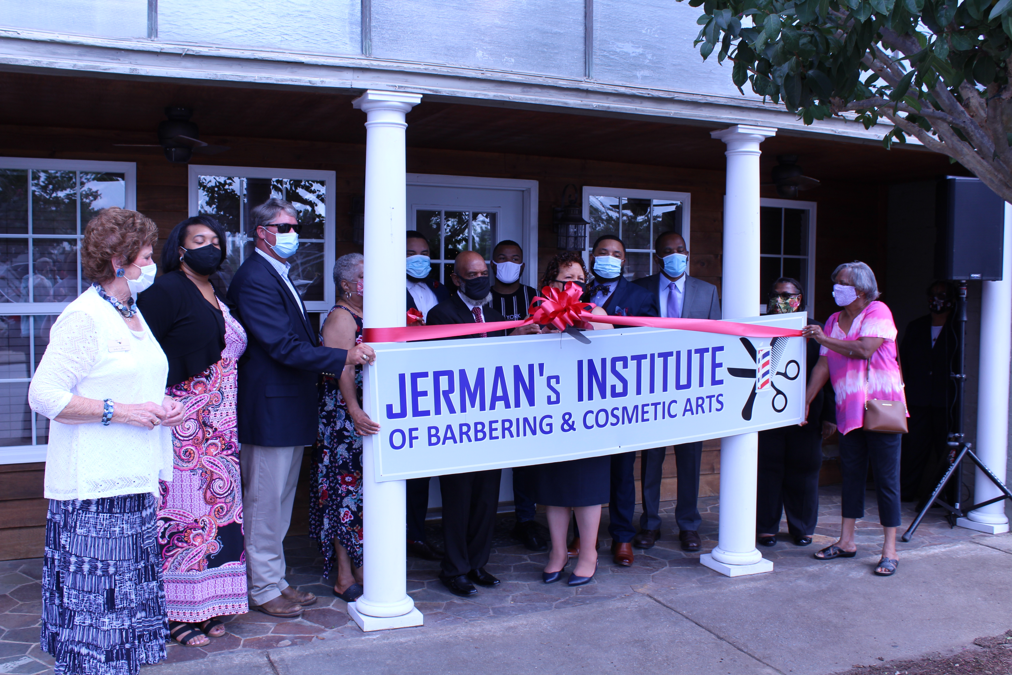 Jerman's Institute Ribbon Cutting