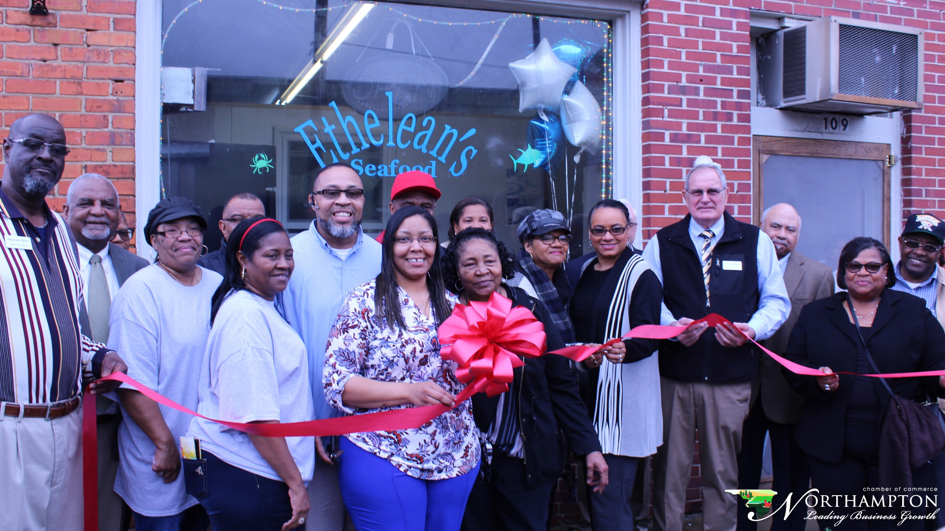 Ethelean's Seafood Rich Square Ribbon Cutting took place on January 13, 2020