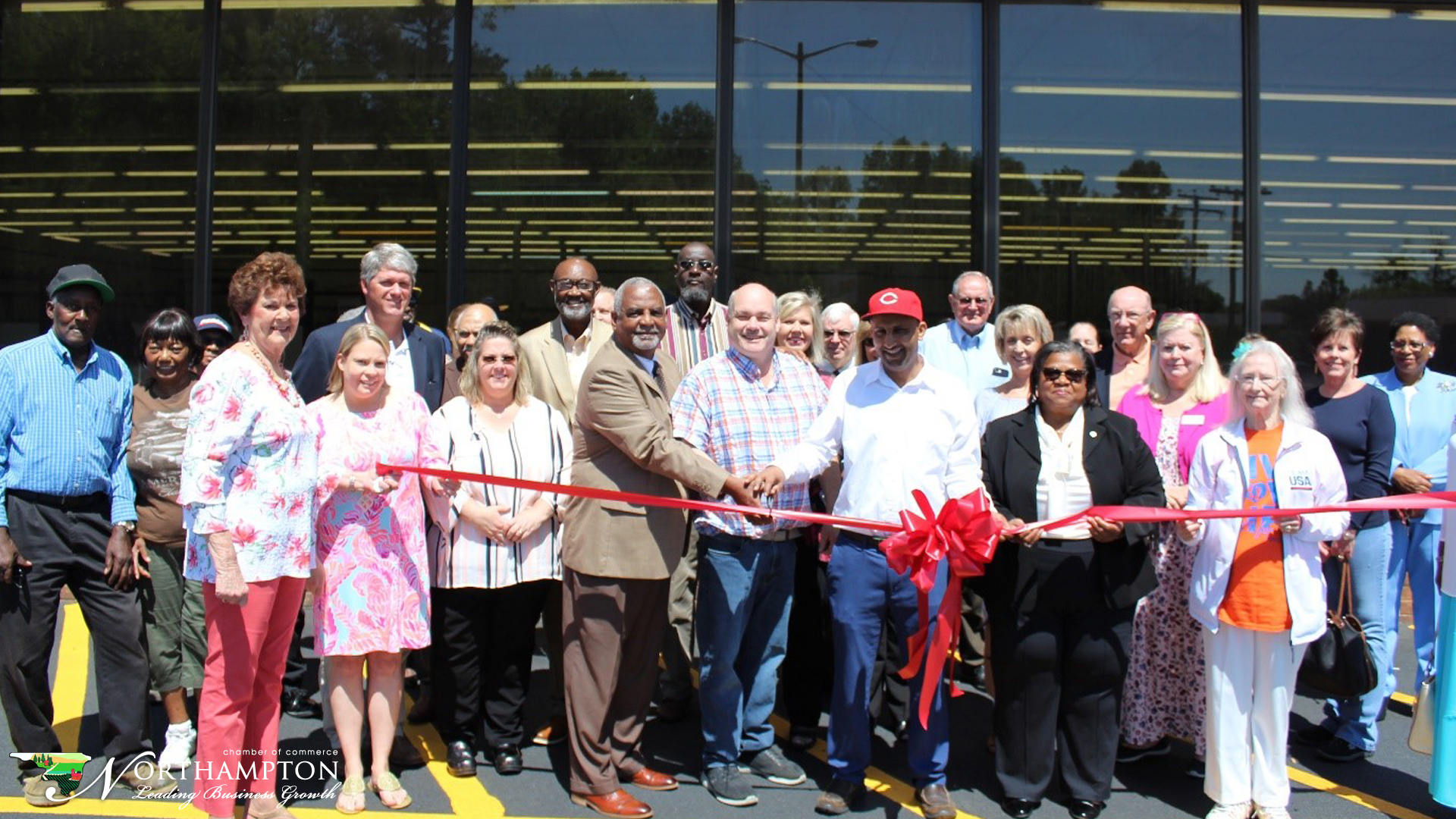 Jackson Food Fresh and Ace Hardware Jackson NC Ribbon Cutting May 14, 2019.