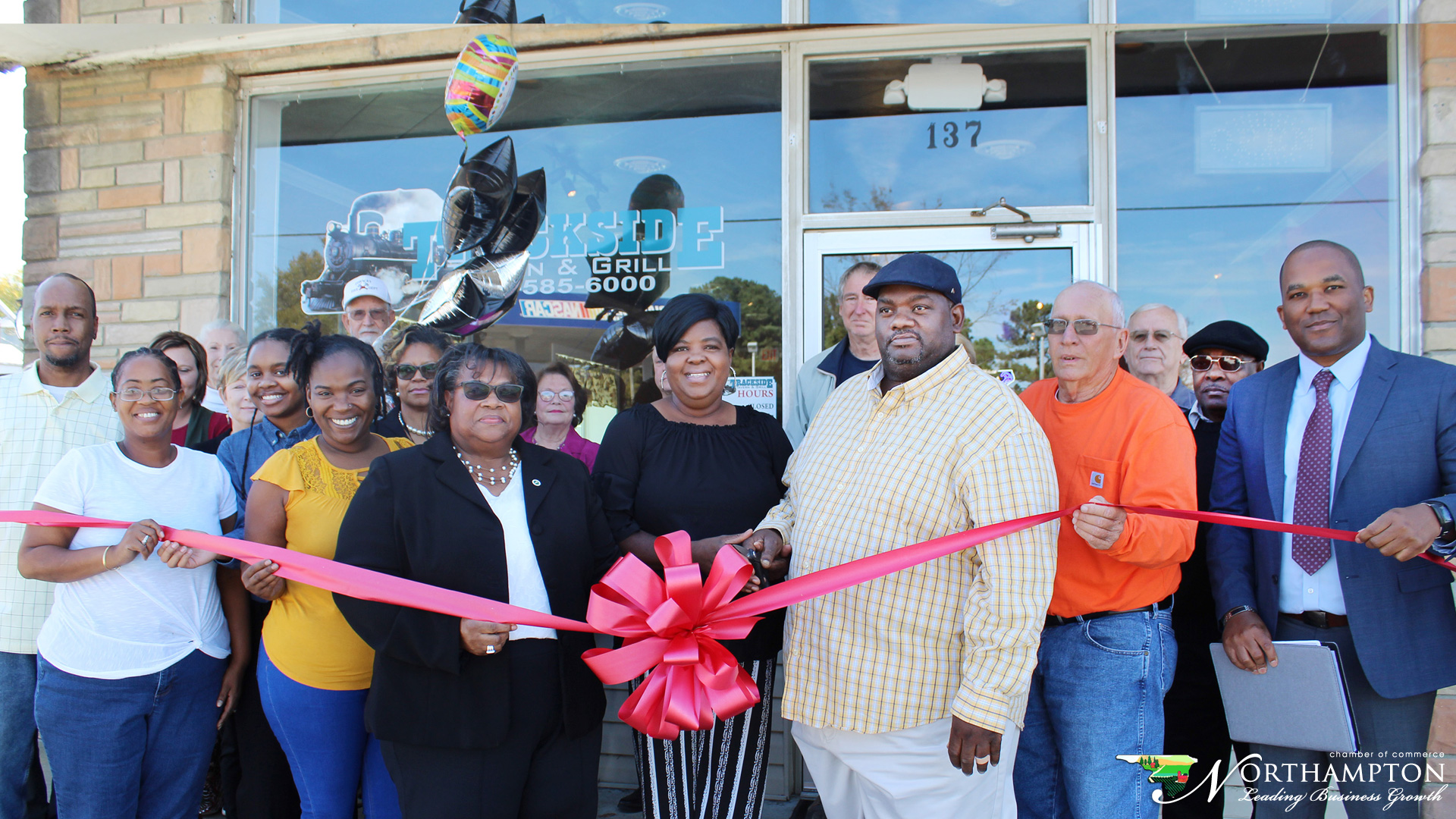 Track-Side Restaurant Conway Ribbon Cutting took place on November 4, 2019